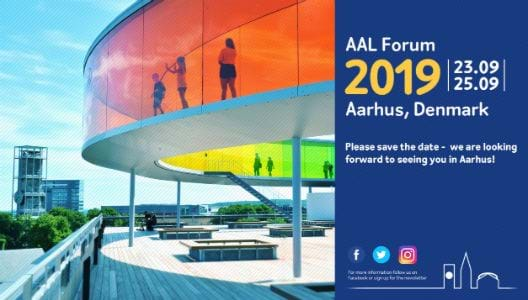 AAL Forum 2019, Aarhus, Denmark (23.9.-25.9.) Please save the date - we look forward to seeing you in Aarhus!